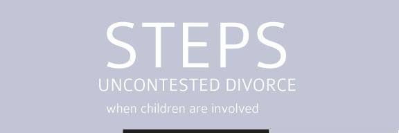 Infographic – Uncontested Divorce (With Children)
