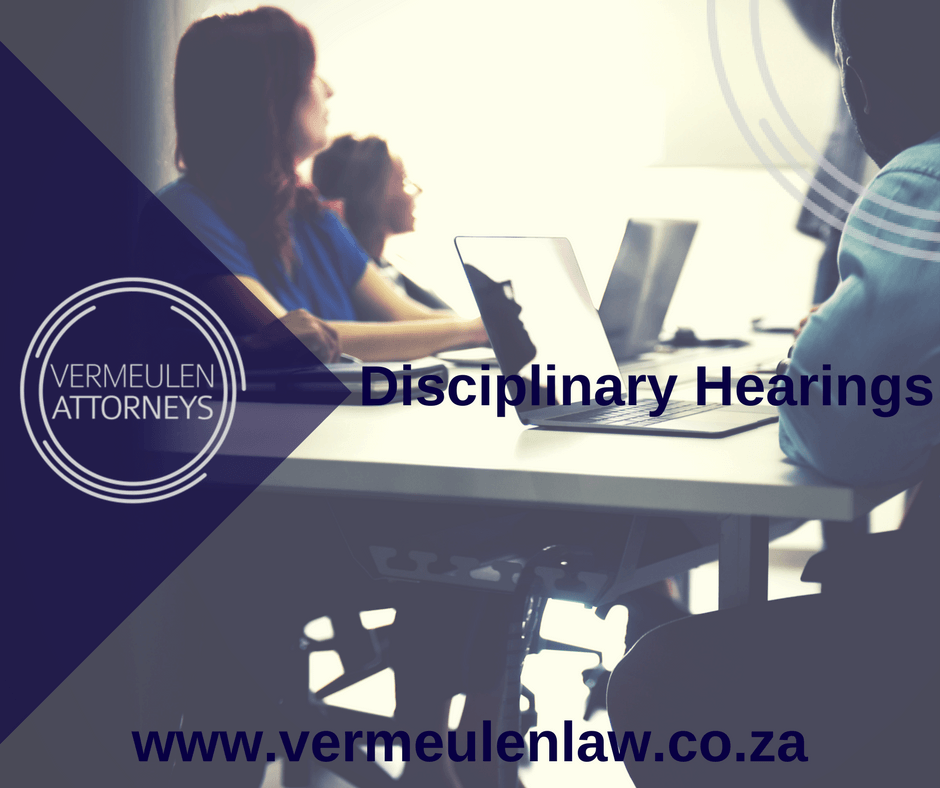 Disciplinary Hearings