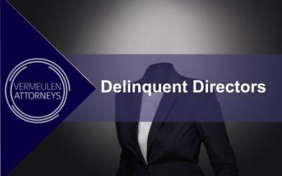 Delinquent Directors
